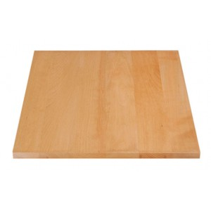 Beech table top transparant 4,5 thick