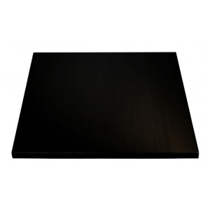 Beech table top black 2,8 thick
