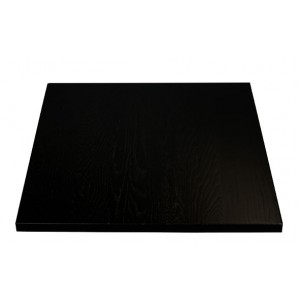 Oak table top black 3,0 thick