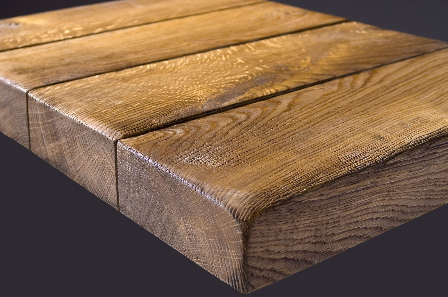 Exceptionnel Table Top Oak Uneven Planks