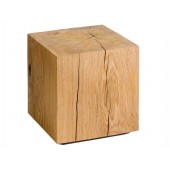 Oak solid wood block
